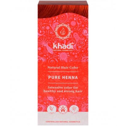 HENNA NATURAL 100GRS KHADI