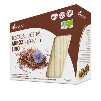 TOSTADAS LIGERAS ARROZ LINO...