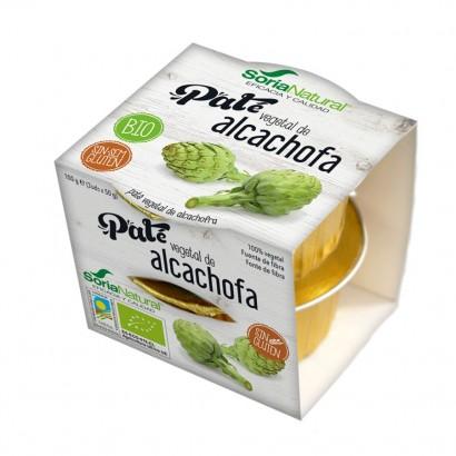 PATE ALCACHOFA 2X50GR SORIA...