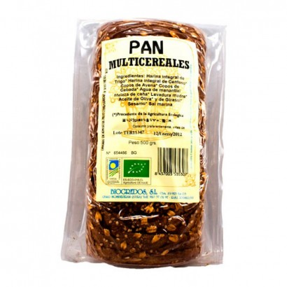 PAN MULTICEREAL MOLDE 500G...