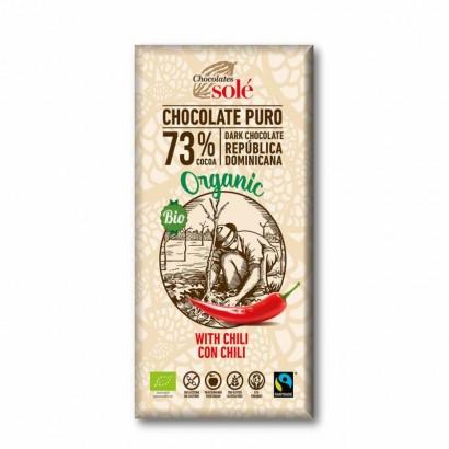 CHOCOLATE NEGRO CHILI 100GR...
