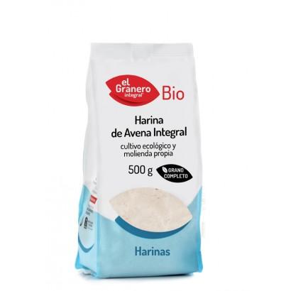 HARINA AVENA INTEGRAL 500GR...