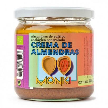 CREMA ALMENDRAS 330GR MONKI