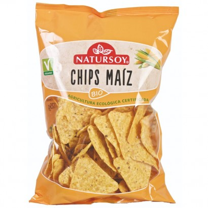 CHIPS MAIZ NATURAL 125G...