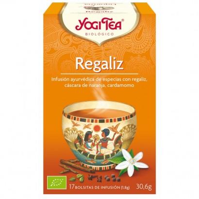 INFUSION REGALIZ 17U YOGI TEA