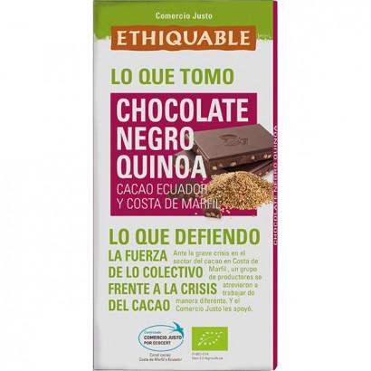 CHOCOLATE NEGRO QUINOA...