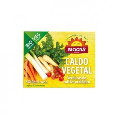 CALDO VEGETAL CUBITOS BIOGRA
