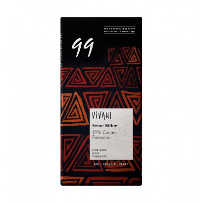 CHOCOLATE NEGRO 99% 80 GR...