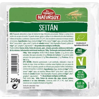 SEITAN FRESCO 250G NATURSOY
