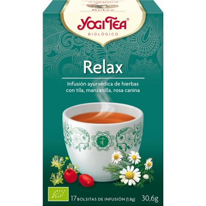 INFUSION RELAX  17U YOGI TEA
