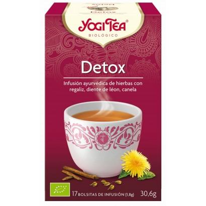 INFUSION DETOX 17U YOGI TEA