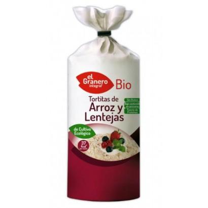 TORTITAS ARROZ Y LENTEJAS...