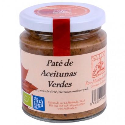 PATE ACEITUNAS VERDES 220G...