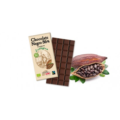 CHOCOLATE NEGRO 86% 100GR SOLE