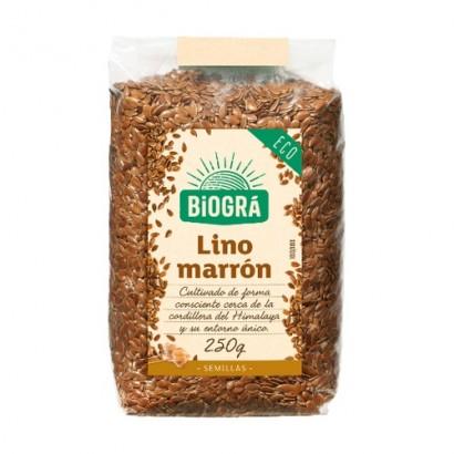 LINO MARRON 250 GR BIOGRA