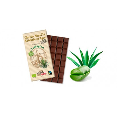 CHOCOLATE NEGRO 73% AGAVE...