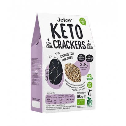 CRACKERS CHIA 60GR JOICE