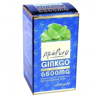 GINKGO 650MG ESTADO PURO...