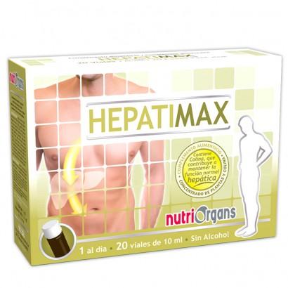 HEPATIMAX 20VIALES NUTRIORGANS